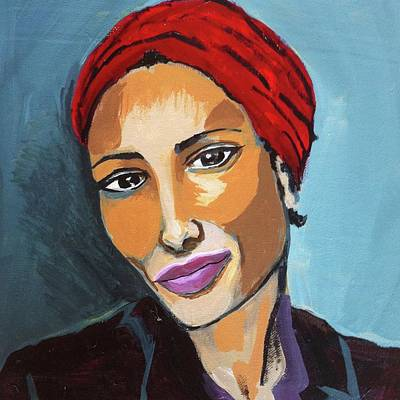 Photograph - Red Turban by Cherylene Henderson