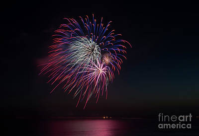 Photograph - Red, White And Blue by Mike Dawson
