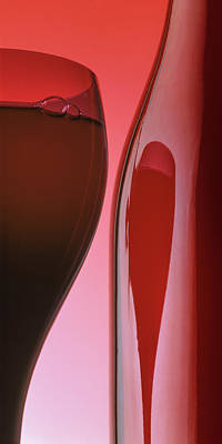 Photograph - Red Wine by Garry McMichael