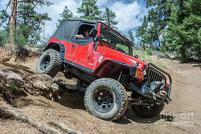 Photograph - Red Wrangler by Tony Baca