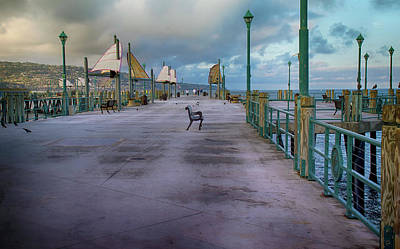 Redondo Beach Pier Wall Art - Photograph - Redondo Beach Pier by Joseph Hollingsworth