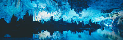 Reed Flute Cave In Guilin, Guangxi Art Print by Panoramic Images