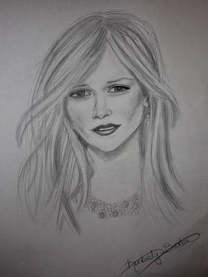 Drawing - Reese Witherspoon by Kimber  Butler