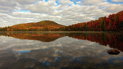 Photograph - Autumn Reflections by Mike Lang
