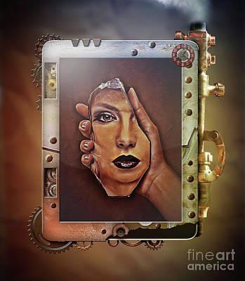 Digital Art - Reflection by Kathy Kelly