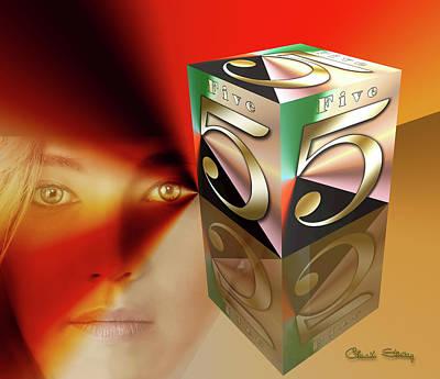 Digital Art - Reflections by Chuck Staley