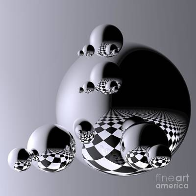 Reflexions Digital Art - Reflections by Issabild -