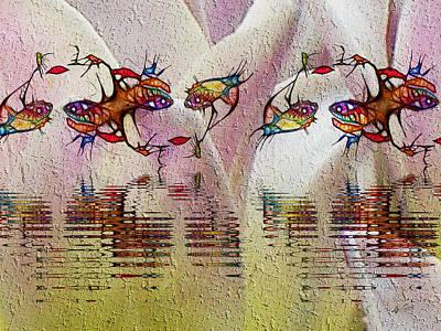 Reflections Art Print by Kiki Art