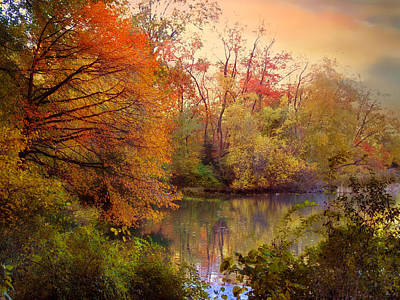 Photograph - Reflections Of Autumn by Jessica Jenney