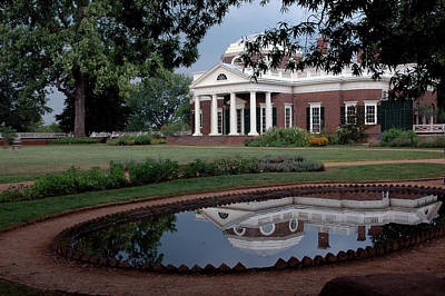 Universities Photograph - Reflections Of Monticello by LeeAnn McLaneGoetz McLaneGoetzStudioLLCcom