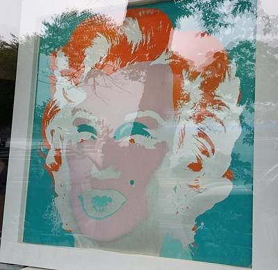 Photograph - Reflections Of Ms Monroe by Rob Hans