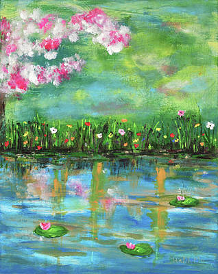 Painting - Reflections Of Spring by Haleh Mahbod