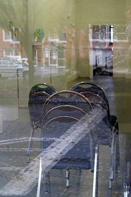 Digital Art - Reflections by Patrick Groleau