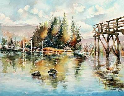 Etc. Painting - Reflexions by Dumitru Barliga