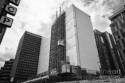 Refurbishment Of Lloyd House West Midlands Police Headquarters Office Development In New Financial A Art Print