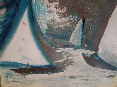 Painting - Regatta by Gregory Dallum