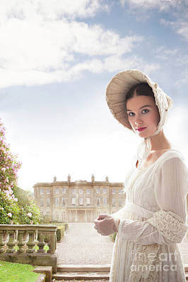 Empire Waist Photograph - Regency Woman by Lee Avison