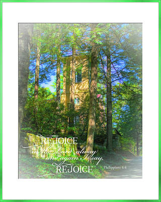 Photograph - Rejoice by Larry Bishop