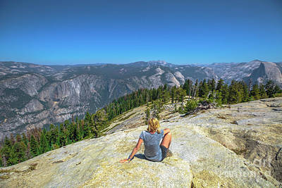 Photograph - Relaxing At Yosemite Summit by Benny Marty