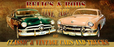 Relics And Rods Art Print