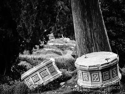 Photograph - Remains Of The Past  by Konstantinos Chatziamallos