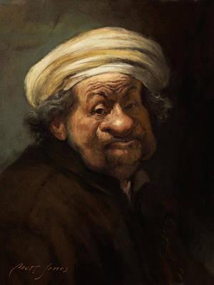 Rembrandt Art Print by Court Jones