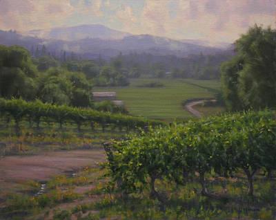 Sonoma Painting - Remembering Sonoma by Joe Mancuso