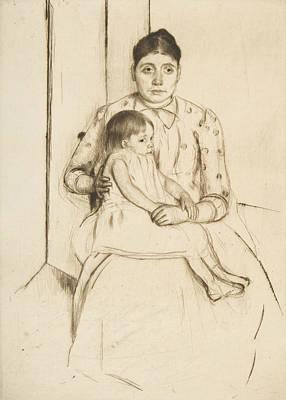 Relief - Repose by Mary Cassatt