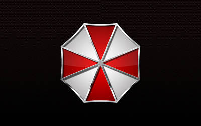 Resident Evil Digital Art - Resident Evil Umbrella Corp                   by F S