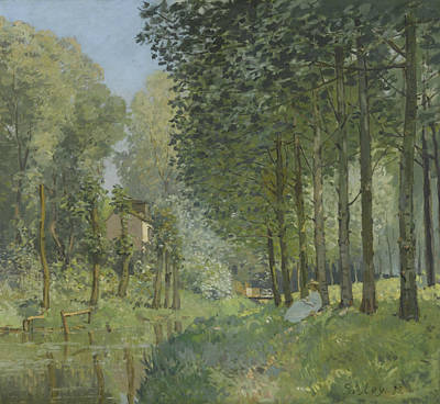 Painting - Rest Along The Stream  by Alfred Sisley
