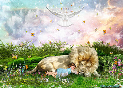 Trusted Digital Art - Rest by Dolores Develde