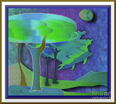Digital Art - Restful #2 by Iris Gelbart