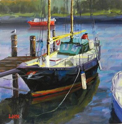 Painting - Resting by Ningning Li