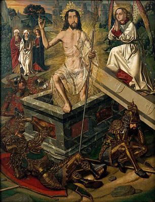Resurrection Painting - Resurrection by Bartolome Bermejo