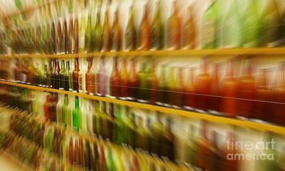 Photograph - Retired Bottles Series #7 by Lexa Harpell