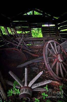 Photograph - Retirement Barn by Randy Rogers