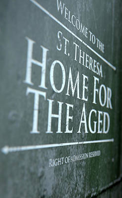 Old Age Digital Art - Retirement Home Signage by Allan Swart