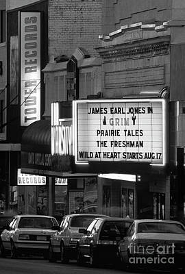 Photograph - Retro Image Varsity Theater Along The 'the Ave'  by Jim Corwin