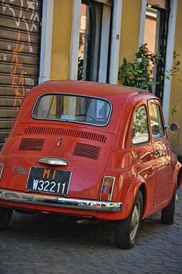Photograph - Retro Fiat by JAMART Photography