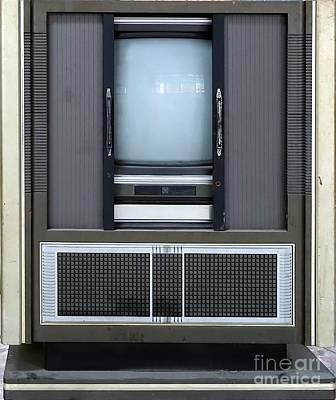 Photograph - Retro Style Television Set by Yali Shi