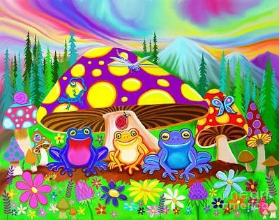 Digital Art - Return To Happy Frog Meadow by Nick Gustafson