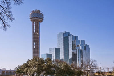 Reunion Tower Dallas II Art Print