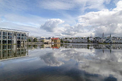 Cities Seen Photograph - Reykjavik - Iceland by Joana Kruse