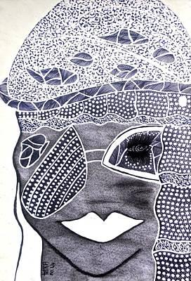 Archetype Painting - Rhiannon by Tetka Rhu