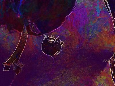 Digital Art - Rhinoceros Beetle Beetle Krabbeltier  by PixBreak Art