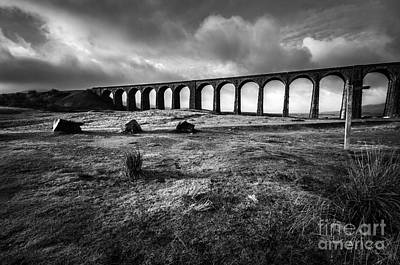 North Wall Art - Photograph - Ribblehead Viaduct by Smart Aviation