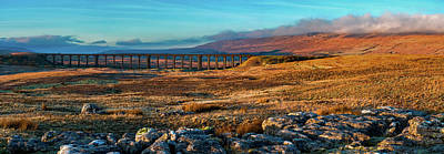 Photograph - Ribblehead Viaduct by Tim Hill