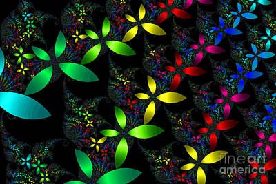 Sean - Ribbons of Flowers by Anne Kitzman