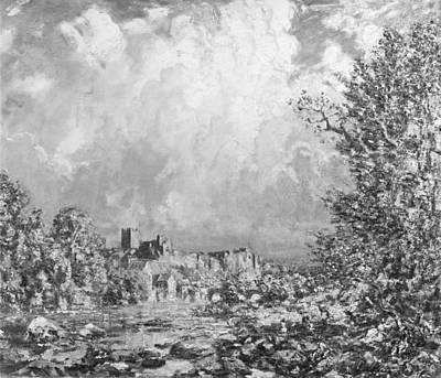 Steer Painting - Richmond Castle Yorkshire by Philip Wilson Steer