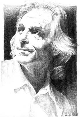 Rick Wright Of Pink Floyd Art Print by Liz Molnar